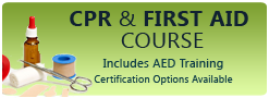 Free CPR & First Aid Course